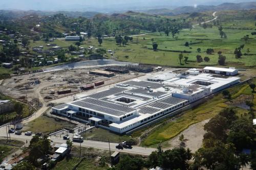Mirebalais Hospital: Aerial Photo
