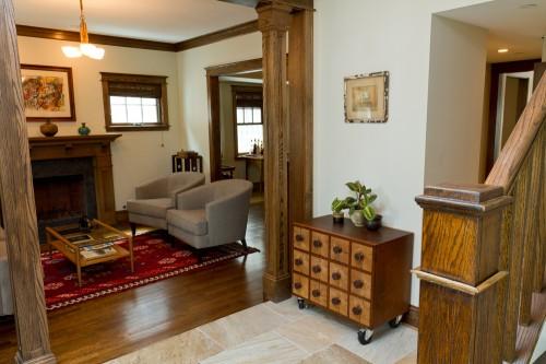 Edgewater Renovation: Living Room